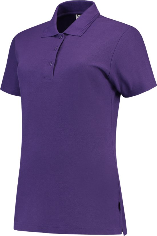 Xxl 201006 Slim Poloshirt fit Dames Casual Tricorp Paars Maat SHqw8x