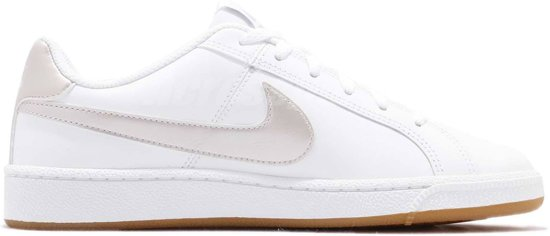 the best attitude d78a9 2b858 Nike Court Royale Sneakers Dames Sneakers - Maat 40 - Vrouwen - witgrijs
