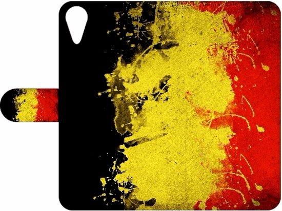 HTC Desire 825 Uniek Design Cover, Belgische Vlag in Zoerle-Parwijs