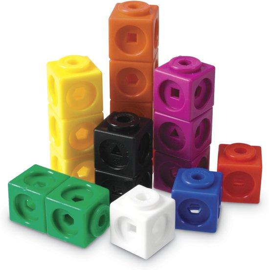 Afbeelding van het spel Mathlink cubes - set van 100