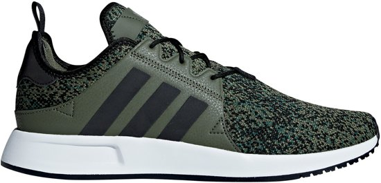 new arrival e2fc4 c528a adidas XPLR Sneakers - Maat 46 - Unisex - donker groenzwartwit