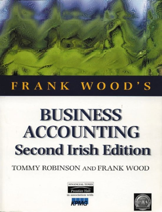 Boek cover Business Accounting Irish Edition van Tommy Robinson (Paperback)