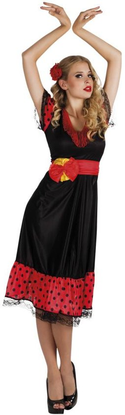 St. Volwassenenkostuum Flamenco Woman (40/42)