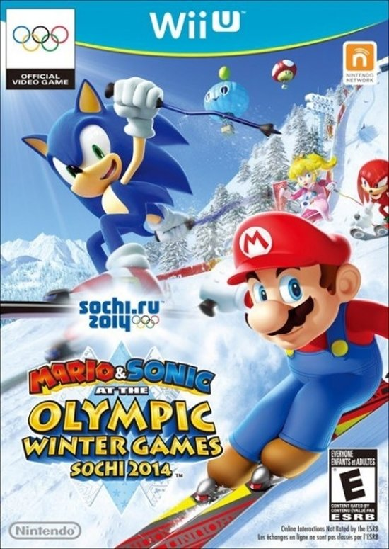 Mario & Sonic at the Sochi 2014 Olympic Winter Games /Wii-U