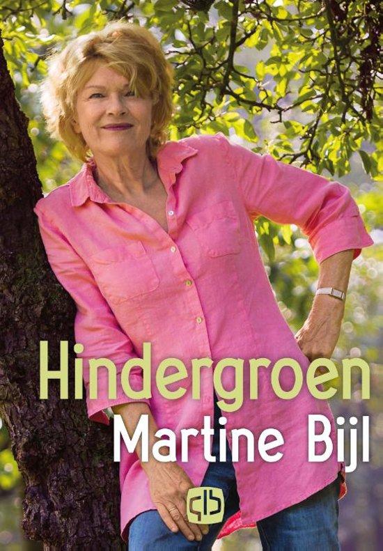Boek cover Hindergroen van Martine Bijl (Hardcover)