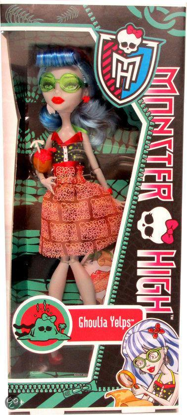 Monster High - Skull Shores Doll Ghoulia (discontinued) /Toys