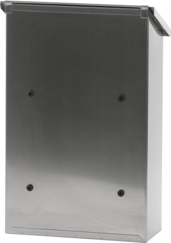 Stalen brievenbus matrvs - 27x12x40 cm
