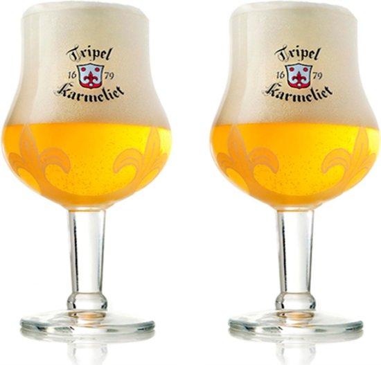 Karmeliet Bierglazen - 330 ml - 2 stuks