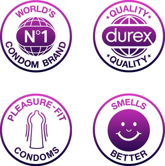 Durex Orgasm Intense Condooms - 10 Stuks