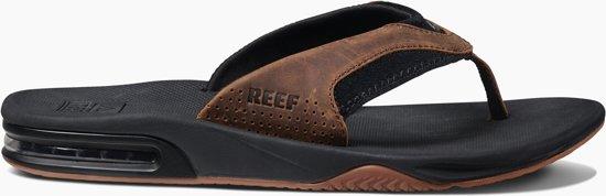 Bruin zwart 42 Slippers Reef Mannen Maat xwIYxqO