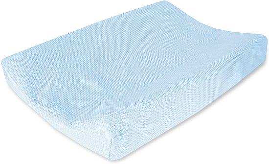 76e01c98684246 bol.com | Cottonbaby Wafel - Aankleedkussenhoes - Lichtblauw