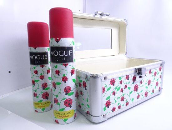 7d19bd83dce Vogue Girl Lieveheersbeestjes Geschenkset - Trendy Beautycase - 100+75 ml.