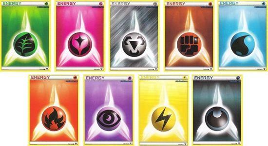 Afbeelding van het spel Pokémon 100 Random Energy Kaarten