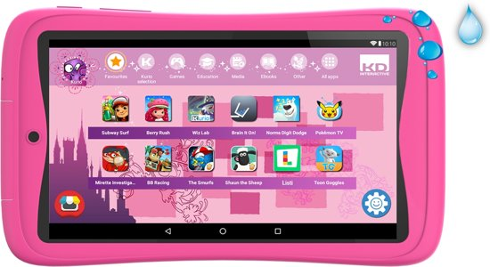 Roze Kinder Tablet.Kurio Tab Advance Telekids 7 Inch Kindertablet 16gb Roze