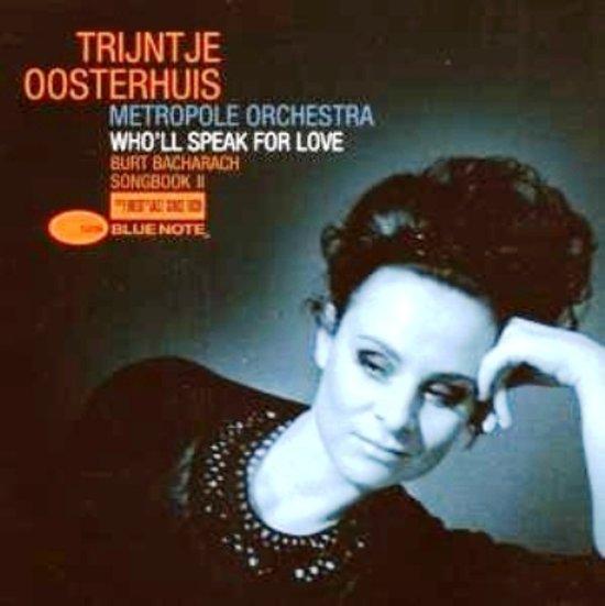 CD cover van Wholl Speak For Love - Burt Bacharach Songbook 2 van Trijntje Oosterhuis