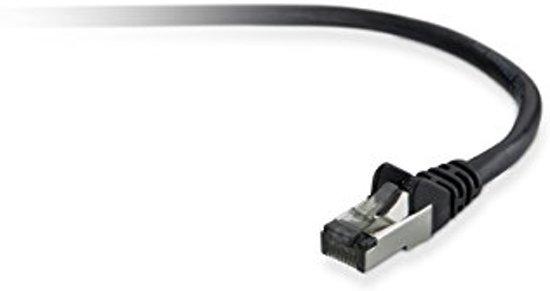 Belkin 10m Cat5e STP netwerkkabel U/FTP (STP) Zwart