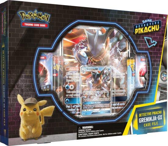 Afbeelding van Pokémon Detective Pikachu GX Pin Box Greninja - Pokémon kaarten speelgoed