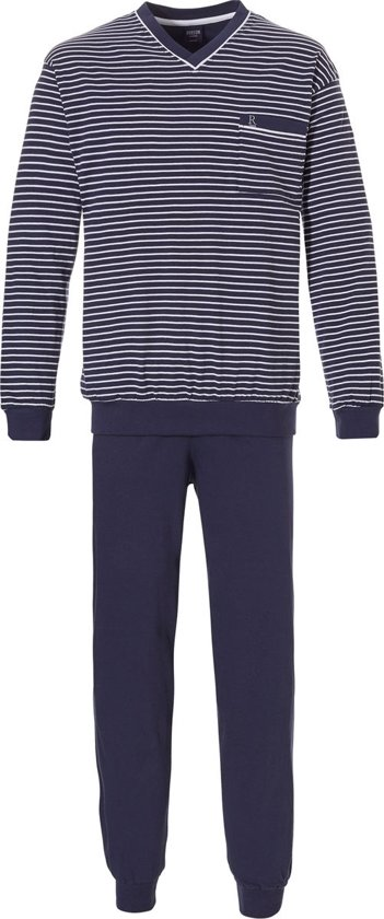 Bolcom Robson Pyjama Blauw Gestreept