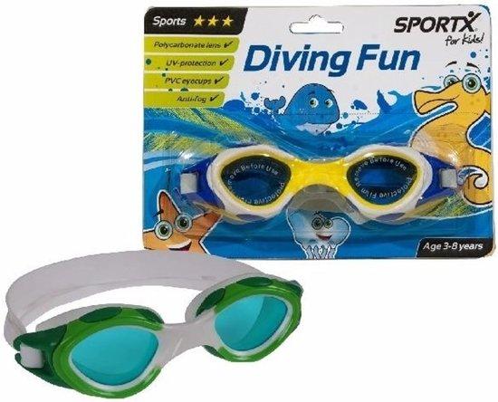 65b24f455e0e78 Sport zwembril geel voor kinderen 3-8 jaar