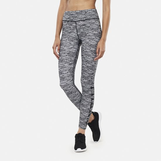 O'Neill Sportlegging Performance Print Logo - Black Aop W/ White - M