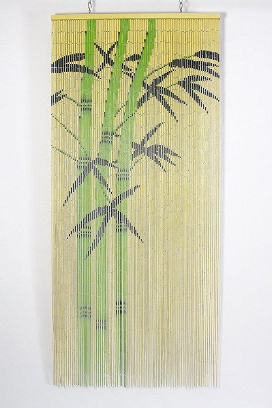 Vliegengordijn Met Print.Bamboe Vliegengordijn Jungle 90 X 200 Cm