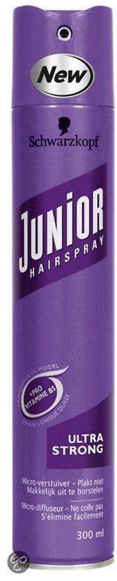 Schwarzkopf Junior Hairspray Ultra Strong