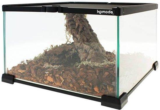 Komodo Nano Habitat Glazen Terrarium - 21X21X15 CM