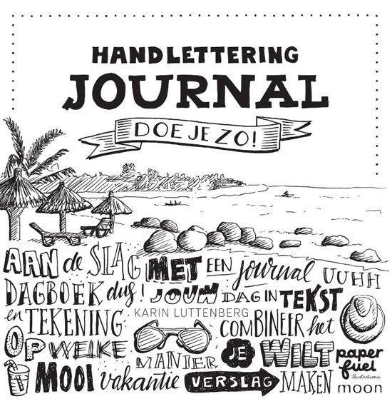 Bol Com Handlettering Journal Doe Je Zo Karin