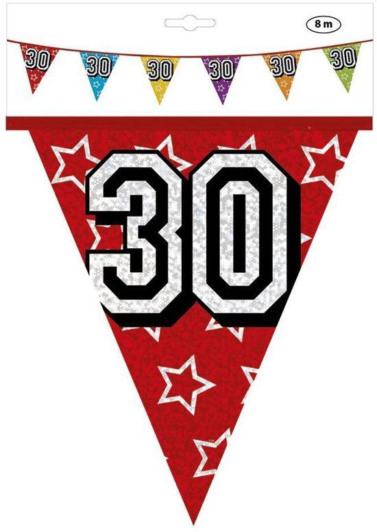 slingers 30 jaar bol.| Slingers 30 Jaar Glitter 8 meter, Prohap | Speelgoed slingers 30 jaar