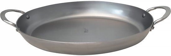 DeBuyer Mineral B Element Roastingpan - Ovaal - 36 cm