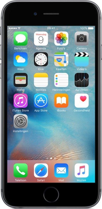 Apple iPhone 6s 11,9 cm (4.7'') 32 GB Single SIM 4G Grijs