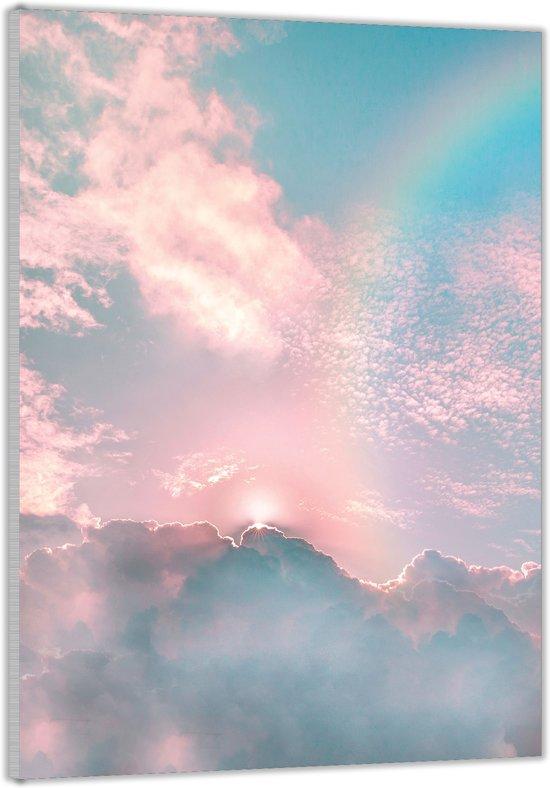 Plexiglas –Regenboog– 40x60cm (Wanddecoratie op Plexiglas)