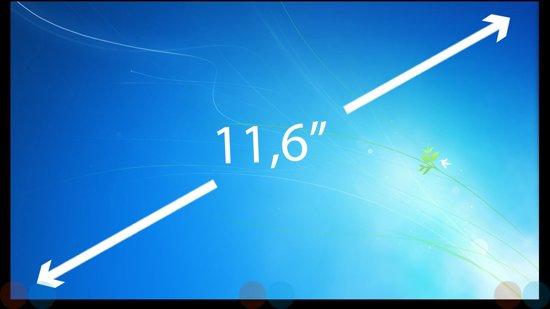 11.6 inch Laptop Scherm LED Slim 1366x768 B116XW01 V.1