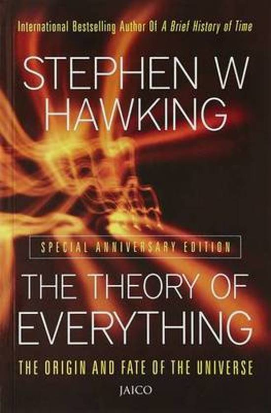 Bolcom The Theory Of Everything 9788179925911 Stephen