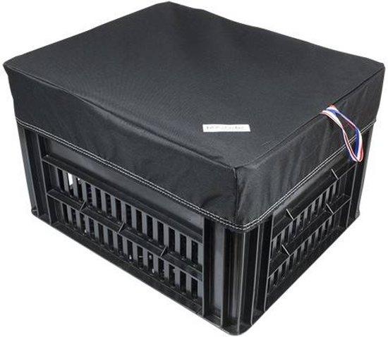 Hoes Box M Zwart voor Kerri Fietskrat