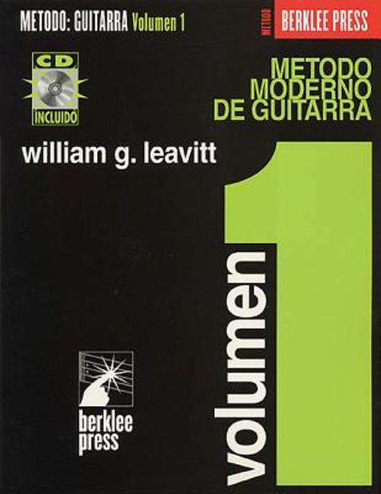 Modern Method For Guitar (Spanish Edition) - Volume 1 (Book/CD)
