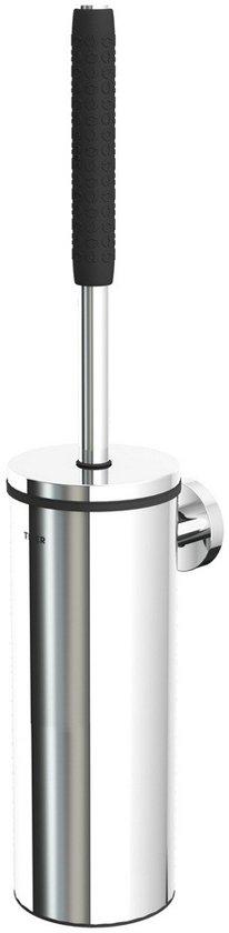 Tiger Comfort & Safety Boston Toiletborstel - Met houder - RVS Glans