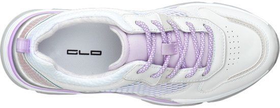 Dames Chunky Paarse Maat Graceland Accenten Sneaker 41 Witte O4FwnS8