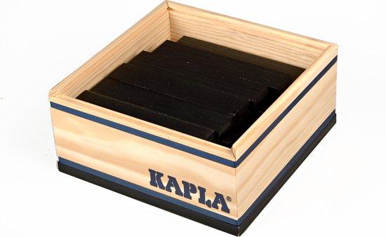 KAPLA Kleur - 40 Plankjes - Zwart