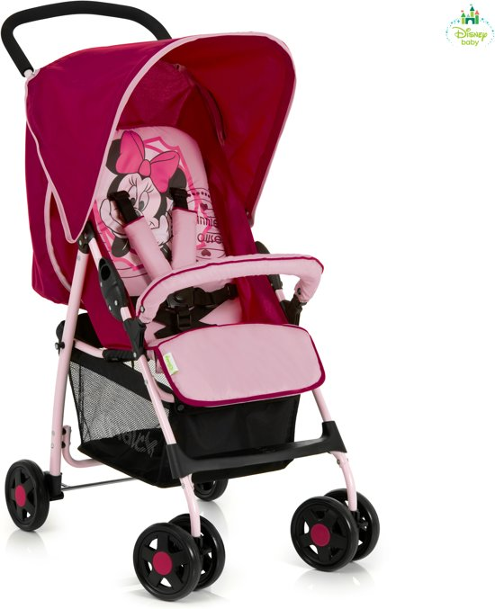 hauck shopper sport minnie buggy pink ii. Black Bedroom Furniture Sets. Home Design Ideas