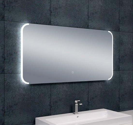Wonderlijk bol.com | Badkamerspiegel Bracket LED Dimbaar 1200x600 AC-35