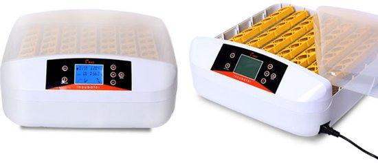 Broedmachine HDD met schouw per ei! – 56 Eieren