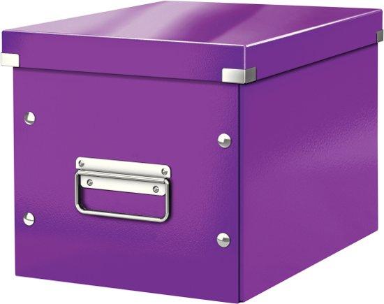 Leitz Click & Store Opbergbox - 16 liter - Paars