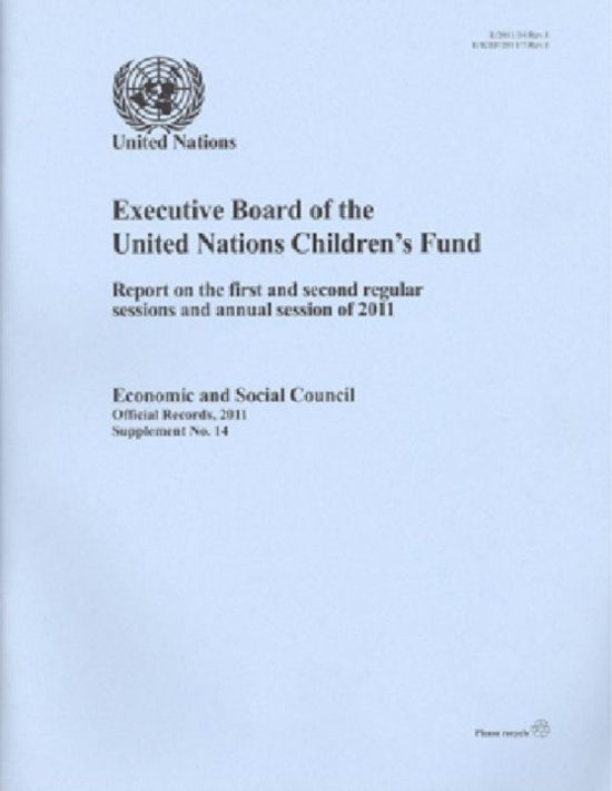 Executive Board of the United Nations Children's Fund