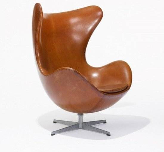 Egg Chair Cognac.Bol Com Egg Chair Bekleding Leder Cognac