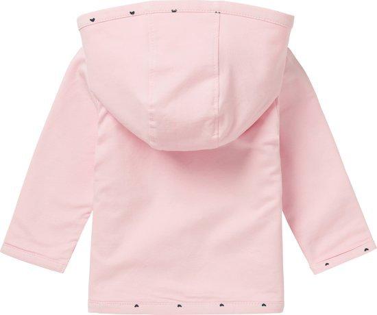 Noppies Giftset (3delig) Lichtroze Vest, Broekje en shirt - Maat 50