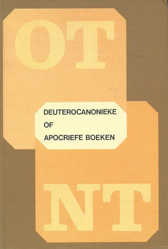 Deuterocanonieke of apocriefe boeken