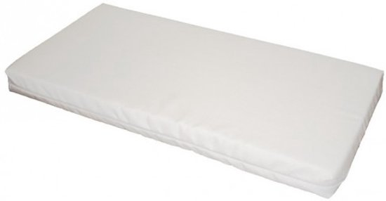 Bebies First - Matras 80x40x4 - Foam Wit