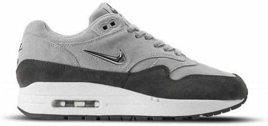 nike air max 1 leather premium grijs