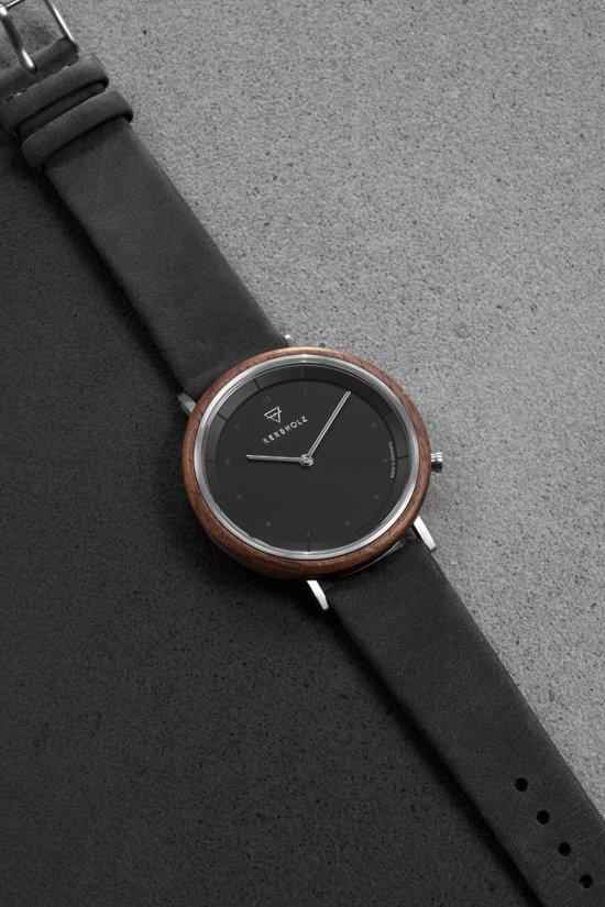 Kerbholz Slim Maple Horloge